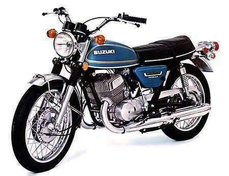 Suzuki T 500 M technical specifications